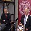 Charles Schumer with David Skorton